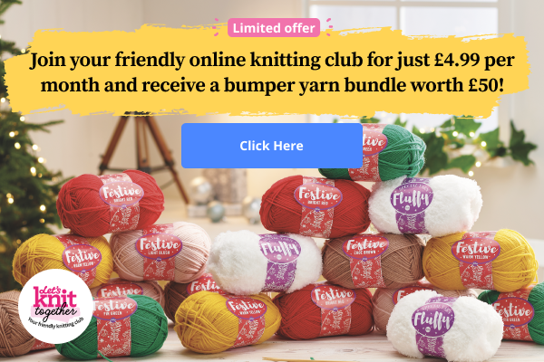 Wait! Have you heard about the UK's new premium knitting club?